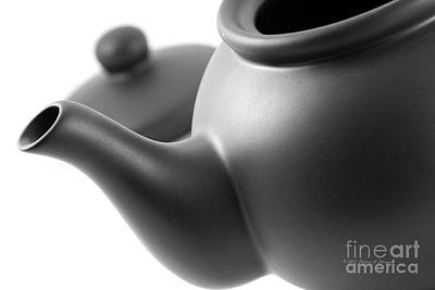Photograph - Black Teapot by Richard J Thompson
