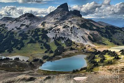 Photograph - Black Tusk And Black Tusk Lake by Adam Jewell