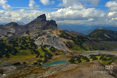 Photograph - Black Tusk Mountain Landscape by Adam Jewell