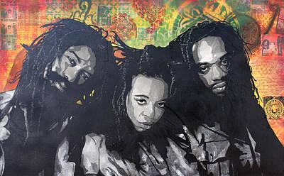 Black Uhuru Art Print by Josh Cardinali