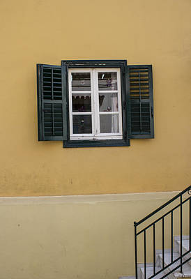 Photograph - Black Window by Radoslav Nedelchev