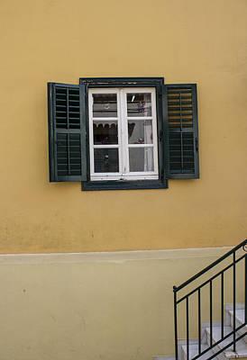 Photograph - Black Window by Radoslav Nedelchev