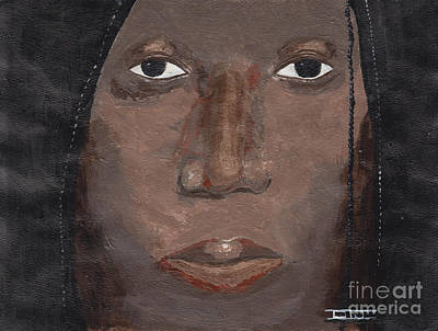 Painting - Black Woman by David Jackson