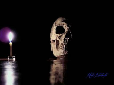 Photograph - Blackbeard's Skull by Mark Blauhoefer