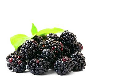 Healthy Eating Photograph - Blackberries by Wladimir Bulgar