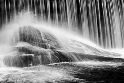 Blackberry River Falls Print by Bill Wakeley