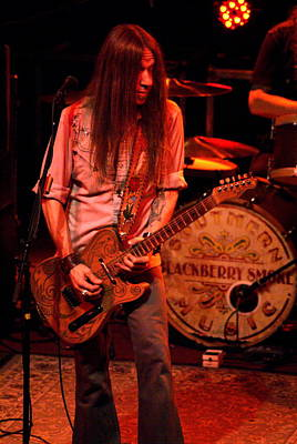 Photograph - Blackberry Smoke Guitarist Charlie Starr by Ben Upham