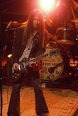 Photograph - Blackberry Smoke Playing The Blues In Spokane 2013 by Ben Upham