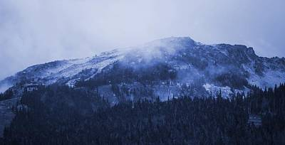 Photograph - Blackcomb Mountain - Whistler by Amanda Holmes Tzafrir