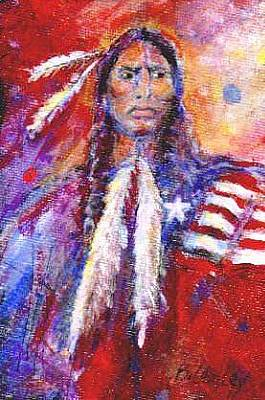 Painting - Blackfeet by Barbara Lemley