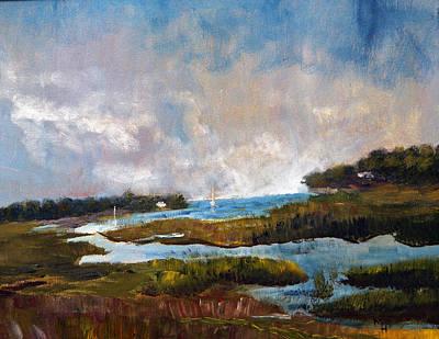 Blackfish Creek Art Print