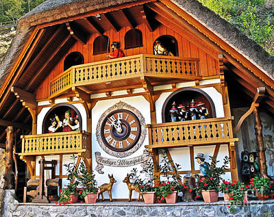 Photograph - Blackforest Cuckoo Clock by Elvis Vaughn