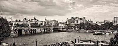 Photograph - Blackfriars Bw by Heather Applegate