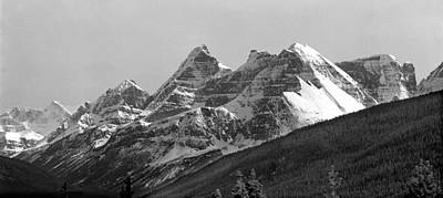 Photograph - 1m3841 And 1m3842-blackfriars Peak  by Ed  Cooper Photography