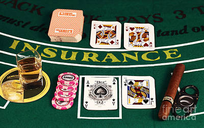 Photograph - Blackjack by John Rizzuto