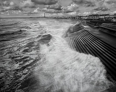 Photograph - Blackpool Promenade by Beverly Cash