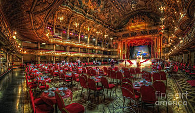 Photograph - Blackpool Tower Ballroom by Yhun Suarez