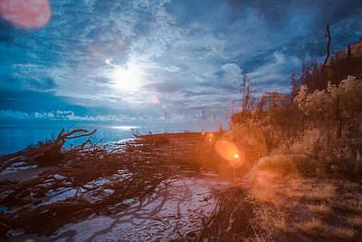 Blackrock Beach - Infrared Art Print
