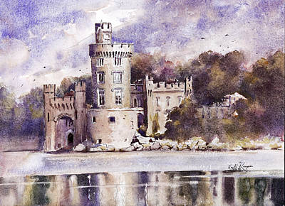 Fineartamerica.com Painting - Blackrock Castle Cork County Cork Ireland by Keith Thompson