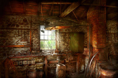 Photograph - Blacksmith - Breathing Life Into Metal by Mike Savad