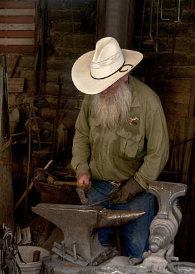 Photograph - Blacksmith by Carol Erikson