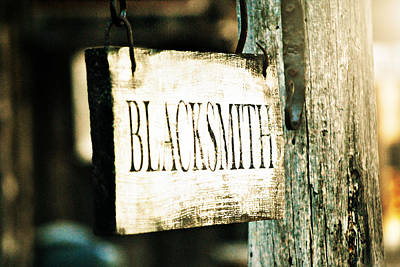 Blacksmith Art Print by Chastity Hoff