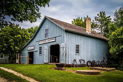 Blacksmith Shop Art Print