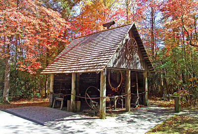 Photograph - Blacksmith Shop In The Fall by Duane McCullough