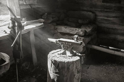 Photograph - Blacksmith Shop by Mary Almond