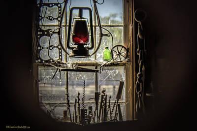 Photograph - Blacksmith Shop Vintage by LeeAnn McLaneGoetz McLaneGoetzStudioLLCcom