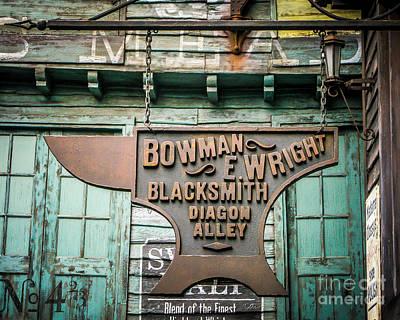 Blacksmith Sign Art Print