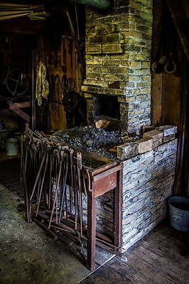 Blacksmiths Forge Art Print