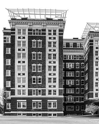 Terra Cotta And Steel Photograph - Blackstone Building #3 - Omaha - Nebraska by Nikolyn McDonald