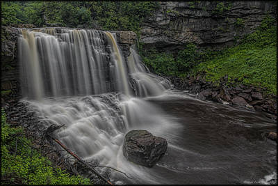 Photograph - Blackwater Falls by Erika Fawcett