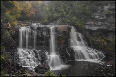 Photograph - Blackwater Falls Fog by Erika Fawcett