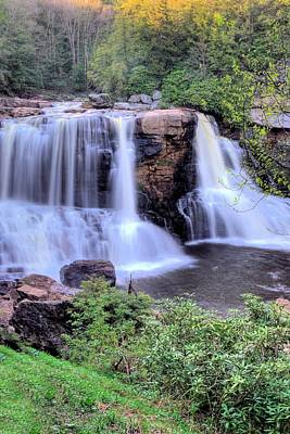 Photograph - Blackwater Falls by Gordon Elwell