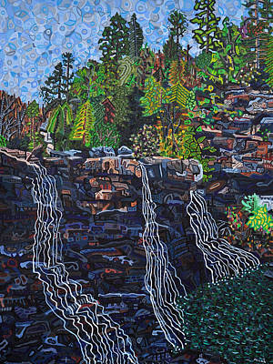 Blackwater Falls Art Print by Micah Mullen