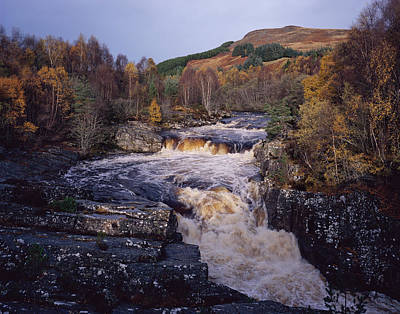 Photograph - Blackwater Falls - Scotland by Tom Daniel