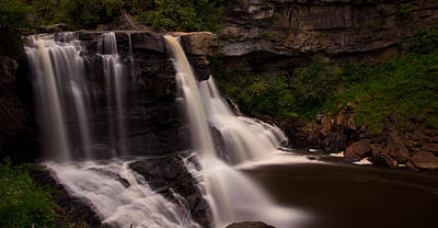 Blackwater Falls Print by Shane Holsclaw