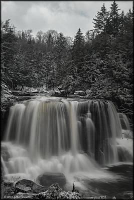 Photograph - Blackwater Falls Winter by Erika Fawcett