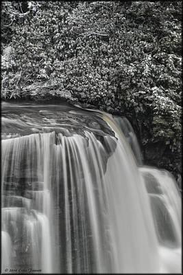 Photograph - Blackwater Snow by Erika Fawcett