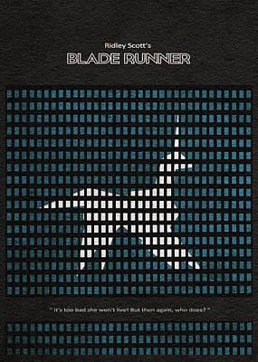 Digital Art - Blade Runner by Inspirowl Design