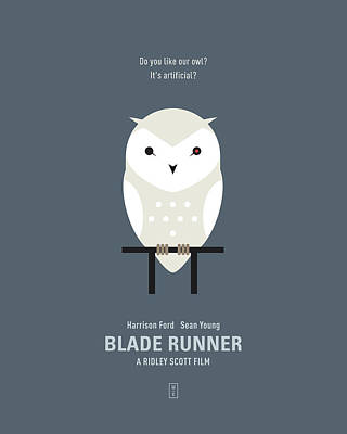 Blade Runner Digital Art - Blade Runner by Smile In The  Mind