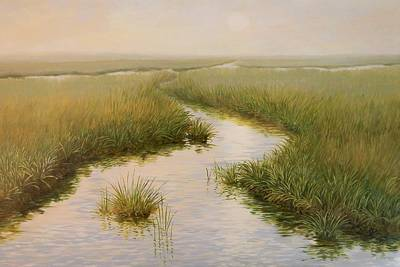 Cape Cod Painting - Blades Of Grass by Anna Lowther