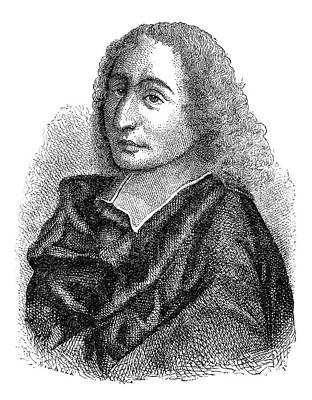 Blaise Pascal Art Print by Science Photo Library