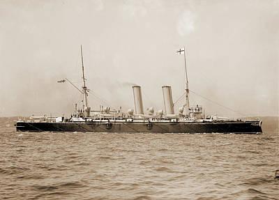 Blake Drawing - Blake, English Ship, Blake Ship, Government Vessels by Litz Collection