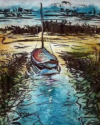 Blakeney Key Art Print by William Rowsell
