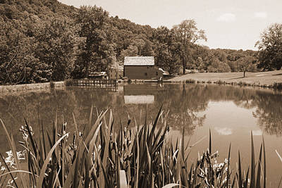 Wv Photograph - Blaker's Mill Timeless Series 4 by Howard Tenke