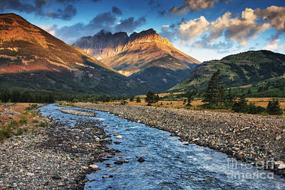 Photograph - Blakiston Creek by Mark Kiver
