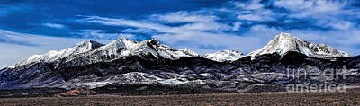 Photograph - Blanca Mountains Near Fort Garland Colorado by Jon Burch Photography
